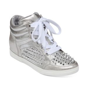 Jessica Simpson Trebble Studded High Top Sneakers